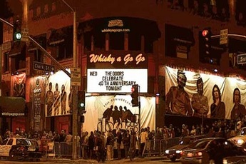 Whisky a Go Go  - Concert Venue in Los Angeles.