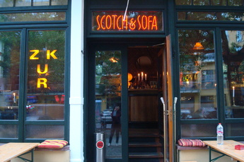 Scotch & Sofa - Lounge | Whiskey Bar in Berlin.