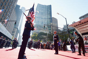 New York Veterans Day Parade - Parade in New York.