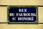 Rue du Faubourg Saint-Honoré - Outdoor Activity | Shopping Area in Paris