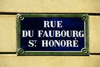 Rue du Faubourg Saint-Honor - Outdoor Activity | Shopping Area in Paris.
