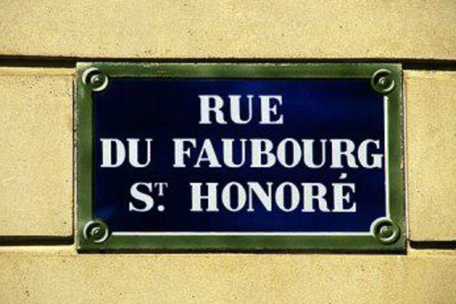 Photo of Rue du Faubourg Saint-Honoré