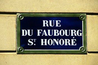 Rue du Faubourg Saint-Honor