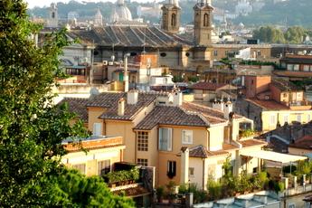 Villa Borghese in Rome.