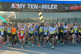 Army Ten-Miler  - Running in Washington, DC.