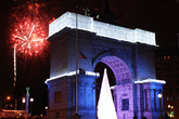 Grand Army Plaza New Year's Eve Fireworks Display - Holiday Event | Special Event in New York.