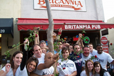 Britannia Pub - British Restaurant | Pub in Los Angeles.
