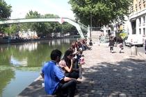 Canal St. Martin - 10eme, Paris.