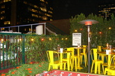 The Biergarten at The Standard Downtown - Beer Garden | Rooftop Bar in Los Angeles.