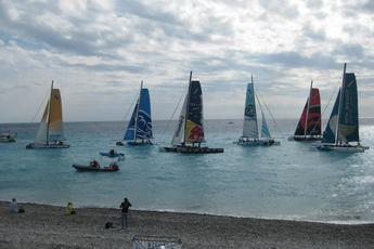 Extreme Sailing Series Nice Regatta - Sports | Sailing in French Riviera.