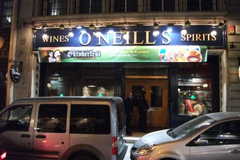 O'Neill's - Irish Pub | Sports Bar in Madrid.