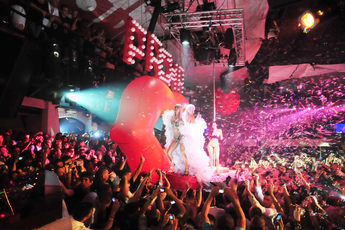 A wild night at Pacha in Ibiza!