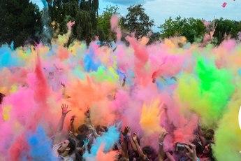 Holi Festival of Colours Amsterdam - Festival in Amsterdam.