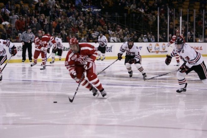 Photo of Boston University Terriers Ice Hockey