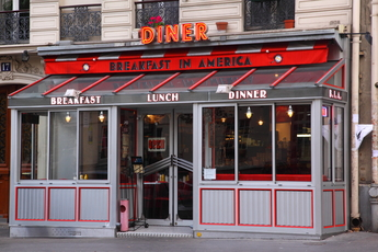 Breakfast in America - Restaurant in Paris.