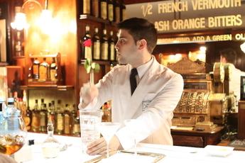 Dry Martini Bar in Barcelona.