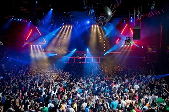 Fabrik - Nightclub in Madrid.