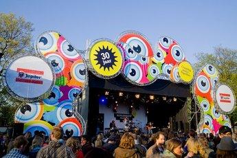 Bevrijdingspop - Music Festival in Amsterdam.
