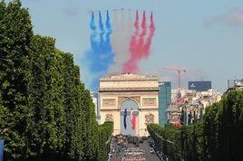 Bastille Day 2015 in Paris