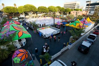 ICE at Santa Monica - Holiday Event | Special Event in Los Angeles.