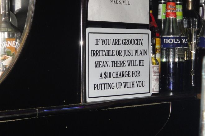 Bar Signs: Words from the Wise - 4 of 13