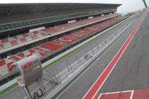 Circuit de Catalunya - Race Track in Barcelona.