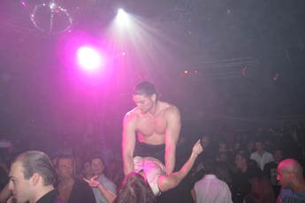 Le Queen - Gay Club in Paris.