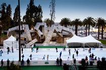 Holiday Ice Skating at Embarcadero Center - Holiday Event in San Francisco.