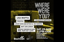 Boxfresh Presents Where Were You?: A Celebration of London Sounds - Party | DJ Event in London.