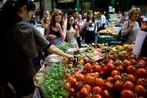 Borough Market - Market in London.