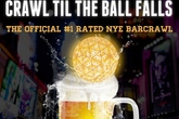 New York Crawl 'Til The Ball Falls New Year's Eve Bar Crawl - Pub Crawl | Holiday Event in New York.