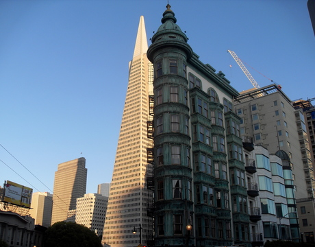 North Beach / Telegraph Hill, San Francisco.