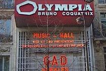 Olympia - Concert Venue in Paris.