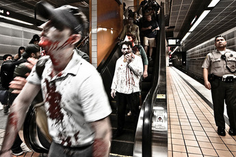 Hollywood Subway Zombie Walk - Special Event | Holiday Event | Costume Party in Los Angeles.