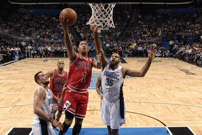 Photo of Dallas Mavericks vs. Chicago Bulls