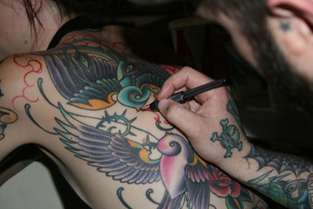 7th annual musink tattoo convention music festival mar for Tattoo convention los angeles