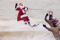 The Water-Skiing Santa - Holiday Event | Show | Special Event in Washington, DC.