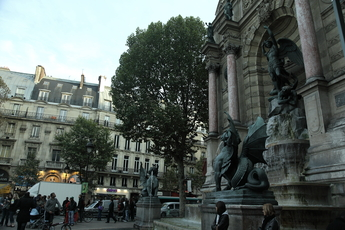 Blvd. Saint-Michel and Environs - Nightlife Area | Shopping Area | Square in Paris.