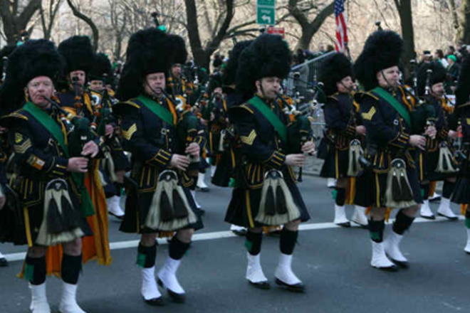 Gnome Garden: Photo Of New York City St. Patrick's Day Parade (1 Of 1