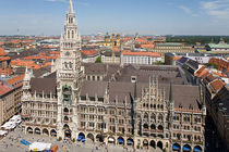 Marienplatz in Munich.