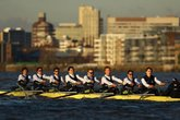 The Boat Race - Rowing in London.