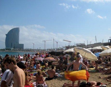 Port Olimpic / Barceloneta, Barcelona.