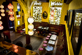 Andy Wahloo - Bar in Paris.