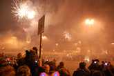 New Year's Eve at Piazza del Popolo 2014 - Holiday Event | Arts Festival | Concert | Dance Festival | Music Festival in Rome.