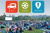 Eat|See|Hear Outdoor Movies 2016 - Food Festival | Music Festival | Screening | Movies | Outdoor Event in Los Angeles.