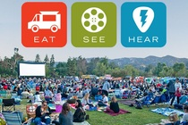 Eat|See|Hear Outdoor Movies 2016 - Food Festival | Music Festival | Screening | Movies | Outdoor Event in Los Angeles