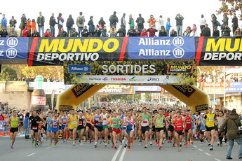 cursa jean bouin barcelona 10k race earth