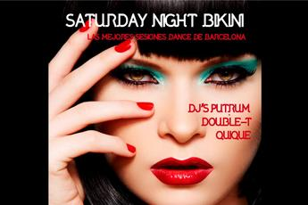 Saturday Night at Bikini - Club Night in Barcelona.