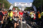 Paris Marathon - Running in Paris.