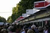 Feria del Libro Madrid - Book Festival in Madrid.